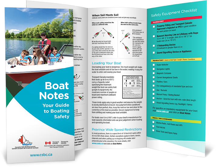 boat notes brochure